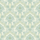 Waverly Small Prints WP2418 - Bedazzled Wallpaper Kiwi