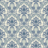 Waverly Small Prints WP2419 - Bedazzled Wallpaper Blue