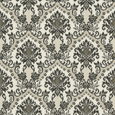 Waverly Small Prints WP2421 - Bedazzled Wallpaper Charcoal Grey