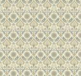 Waverly Small Prints WP2460 - Santa Maria Wallpaper Taupe/Beige