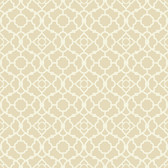 WP2494 - Waverly Small Prints Lovely Lattice Wallpaper