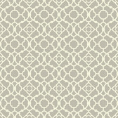 WP2496 - Waverly Small Prints Lovely Lattice Wallpaper