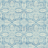 Waverly Classics II WC7501 - Curators Gem Wallpaper Blue