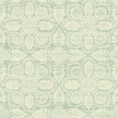 Waverly Classics II WC7502 - Curators Gem Wallpaper Green
