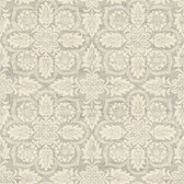 Waverly Classics II WC7503 - Curators Gem Wallpaper Brown