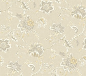Waverly Classics II WC7520 - Arbor Imagery Wallpaper Neutral