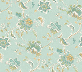Waverly Classics II WC7521 - Arbor Imagery Wallpaper Teal