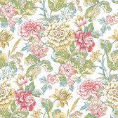 Waverly Classics II WC7530 - Sonnet Sublime Wallpaper White
