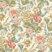 Waverly Classics II WC7533 - Sonnet Sublime Wallpaper Pink