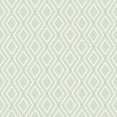 Waverly Classics II WC7580 -  Diamond Duo Wallpaper Green