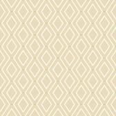 Waverly Classics II WC7583 -  Diamond Duo Wallpaper Beige