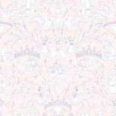 A Perfect World KI0501 - Ballet Toile Wallpaper Pearl