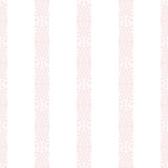 A Perfect World KI0505 - Ballerina Stripe Wallpaper Pink