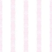 A Perfect World KI0507 - Ballerina Stripe Wallpaper Orchid