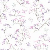 KI0515 - Watercolor BranchWallpaper