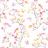 KI0516 - Watercolor BranchWallpaper