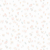 KI0519 - Watercolor Floral BouquetWallpaper