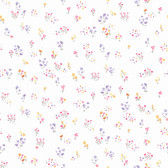 KI0521 - Watercolor Floral BouquetWallpaper