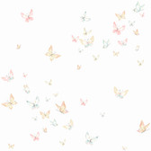 KI0524 - Watercolor ButterfliesWallpaper
