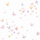 KI0526 - Watercolor ButterfliesWallpaper