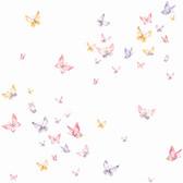 A Perfect World KI0526 - Watercolor Butterflies Wallpaper Pink