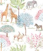 A Perfect World KI0542 - On The Savanna Wallpaper Primary
