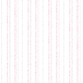 A Perfect World KI0548 - Dotty Stripe Wallpaper Pink/Purple