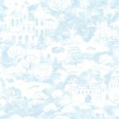 A Perfect World KI0562 - Quiet Kingdom Wallpaper Blue