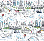 KI0585 - Novelty Euro ScenicWallpaper