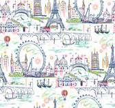 KI0586 - Novelty Euro ScenicWallpaper