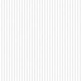 A Perfect World KI0603 - Ticking Stripe Wallpaper Grey