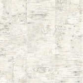 3118-12642 Champlain Grey Grid Wood Wallpaper