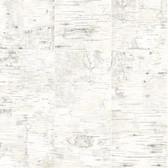 3118-12643 Champlain Off-White Grid Wood Wallpaper