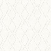 3118-12653 Tapa Cream Trellis Wallpaper