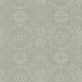 3118-12662 Java Beige Medallion Wallpaper