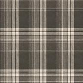 3118-12671 Saranac Dark Brown Flannel Wallpaper