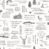 3118-01475 North Hills Black Camping Quotes Wallpaper