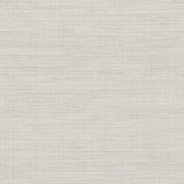 Birch & Sparrow 3118-016912 - Kent Grasscloth Wallpaper Light Grey