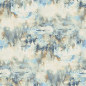 3118-12611 Tamarack Blue Forest Wallpaper