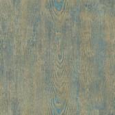 Birch & Sparrow 3118-12682 - Drifter Wood Wallpaper Green