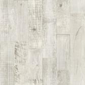 Birch & Sparrow 3118-12694 - Chebacco Wooden Planks Wallpaper Light Grey