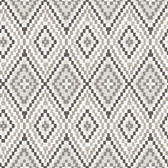 Birch & Sparrow 3118-12714 - Ganado Geometric Ikat Wallpaper Dark Brown