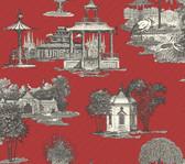 AF1915-Ashford Toiles Mandarin Wallpaper