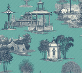 AF1919-Ashford Toiles Mandarin Wallpaper