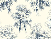 AF1926-Ashford Toiles Deciduous Wallpaper
