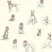 AF1939-Ashford Toiles Dog's Life Wallpaper