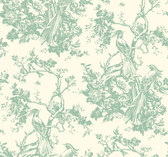 AF1947-Ashford Toiles Exotic Plumes Wallpaper