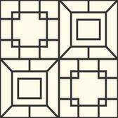 Ashford House AF1967 - Toiles Theorem Wallpaper Beige