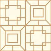 Ashford House AF1970 - Toiles Theorem Wallpaper Copper