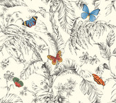 AF2025-Ashford Toiles Papillon Wallpaper